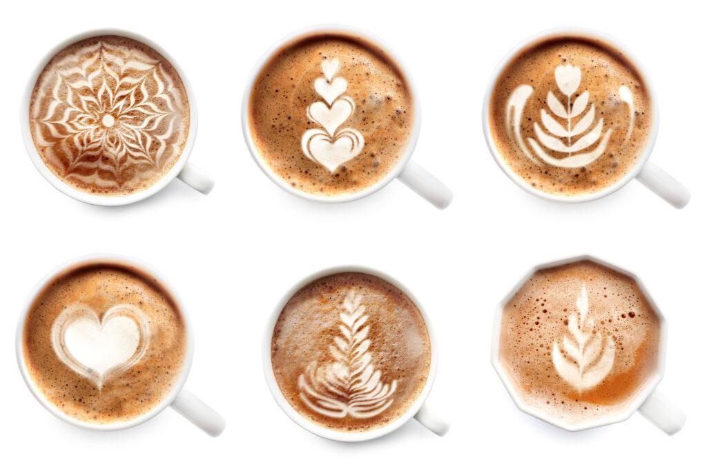 Przygotowanie cappuccino