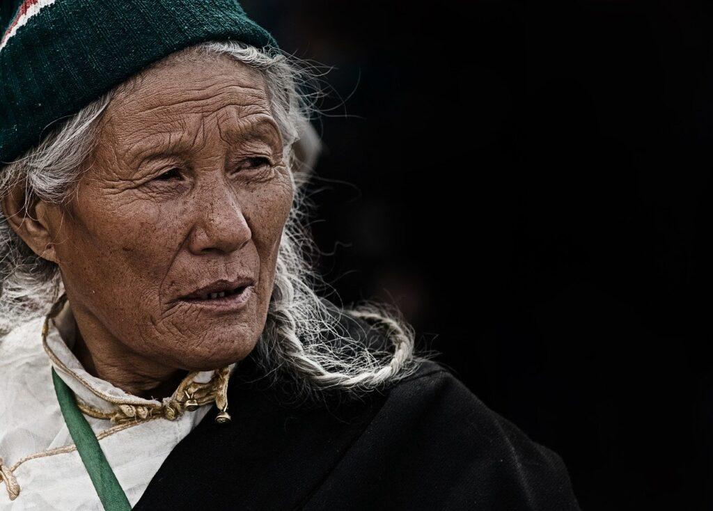 woman, elderly, tibet-1749355.jpg